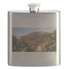 Frederic Edwin Church Heart Of Andes Flask