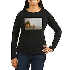 John Frederick Kensett Beach At Beverly T-Shirt