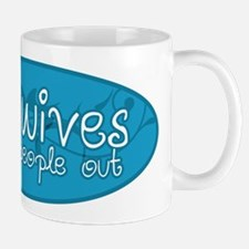 Midwives help people out Mug