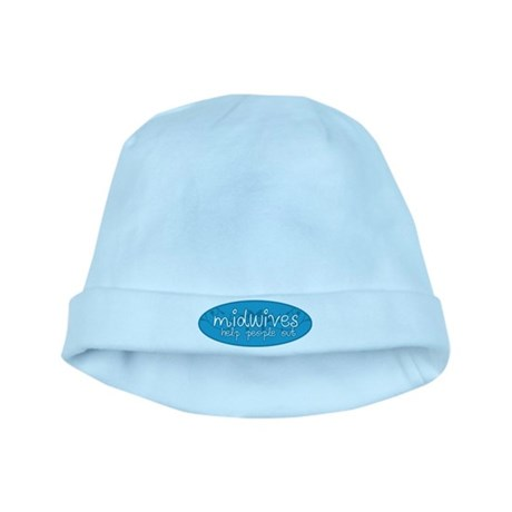 Midwives help people out baby hat