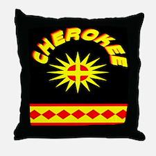 CHEROKEE INDIAN Throw Pillow