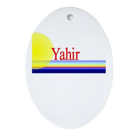 Yahir Oval Ornament
