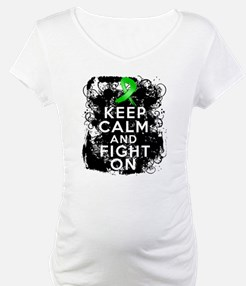 Kidney Disease Keep Calm Fight On Shirt