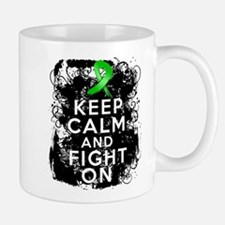 Kidney Disease Keep Calm Fight On Mug