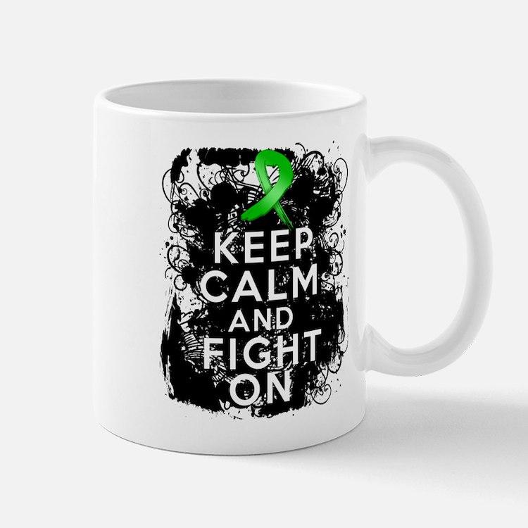Kidney Disease Keep Calm Fight On Mug