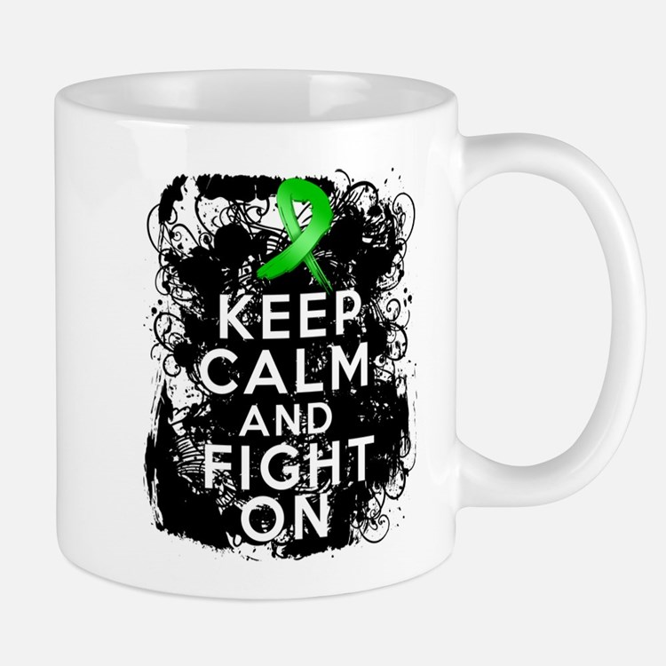 Kidney Disease Keep Calm Fight On Small Small Mug