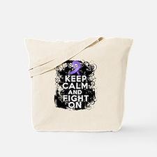 Hodgkins Lymphoma Keep Calm Fight On Tote Bag