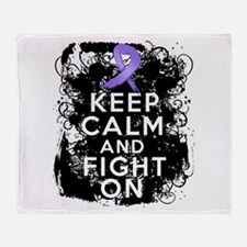 Hodgkins Lymphoma Keep Calm Fight On Stadium Blan