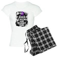 Fibromyalgia Keep Calm Fight On pajamas