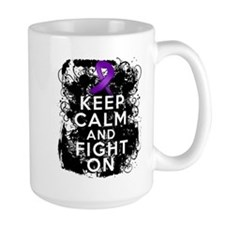 Epilepsy Keep Calm Fight On Mug