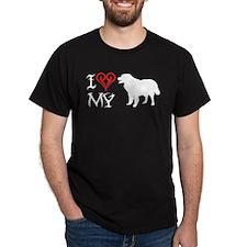 Polish Tatra Sheepdog Black T-Shirt