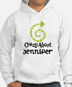 Personalized Couples Crazy Hoodie