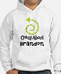Personalized Couples Crazy Jumper Hoody