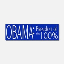 President of the 100% Car Magnet 10 x 3