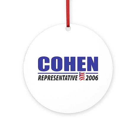 Cohen 2006 Ornament (Round)
