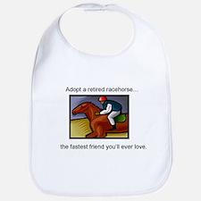 Adopt a Racehorse Bib