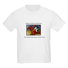 Adopt a Racehorse Kids T-Shirt