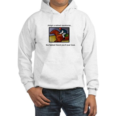 Adopt a Racehorse Hooded Sweatshirt