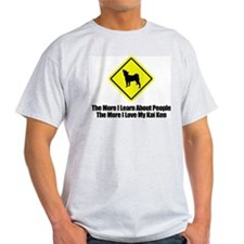 Kai Ken Ash Grey T-Shirt