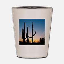 Arizona Cactus Shot Glass