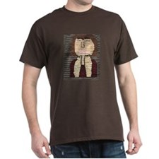 Fiber artwork by Marie Malinowski. Dark T-Shirt