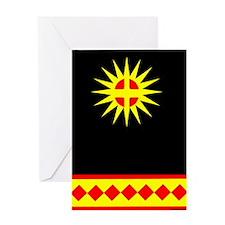 CHEROKEE INDIAN Greeting Card