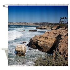 California Shore Shower Curtain