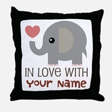 Personalized Matching Couple Throw Pillow