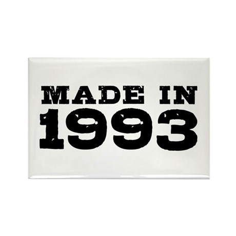Made In 1993 Rectangle Magnet