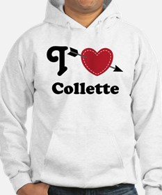 Personalized Couples Heart Jumper Hoody