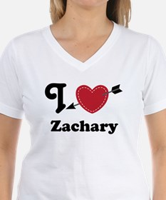 Personalized Couples Heart Shirt