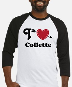Personalized Couples Heart Baseball Jersey
