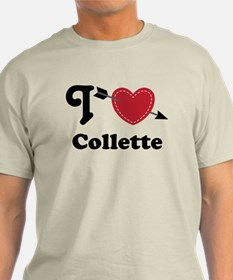 Personalized Couples Heart T-Shirt
