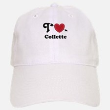 Personalized Couples Heart Baseball Baseball Cap