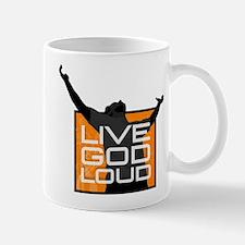 live God loud.jpg Mug