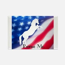 rescue me Rectangle Magnet (10 pack)