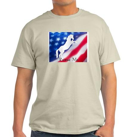 rescue me Ash Grey T-Shirt