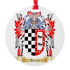 Amaya Round Ornament