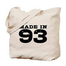 Made In 93 Tote Bag