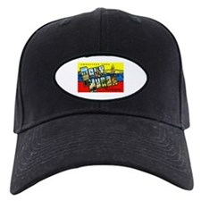 Port Huron Michigan Greetings Baseball Hat