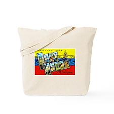 Port Huron Michigan Greetings Tote Bag