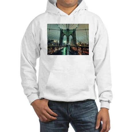 BROOKLYN BRIDGE.jpg Hooded Sweatshirt