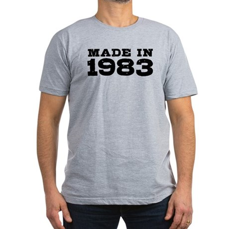 Made In 1983 Men's Fitted T-Shirt (dark)