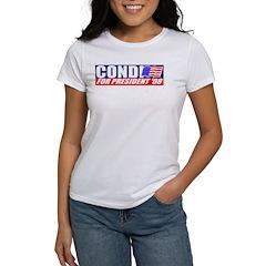 Condi Rice For President Women's T-Shirt