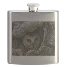 Saw-whet Owl 2 Flask