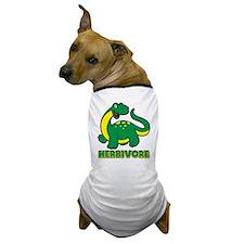 Herbivore Dinosaur Dog T-Shirt