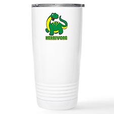 Herbivore Dinosaur Travel Mug