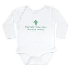 Hoopy Frood Long Sleeve Infant Bodysuit