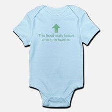 Hoopy Frood Infant Bodysuit