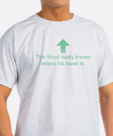 Hoopy Frood T-Shirt